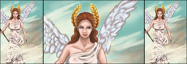 Goddess of Victory by Deviantartist Silme Mor.